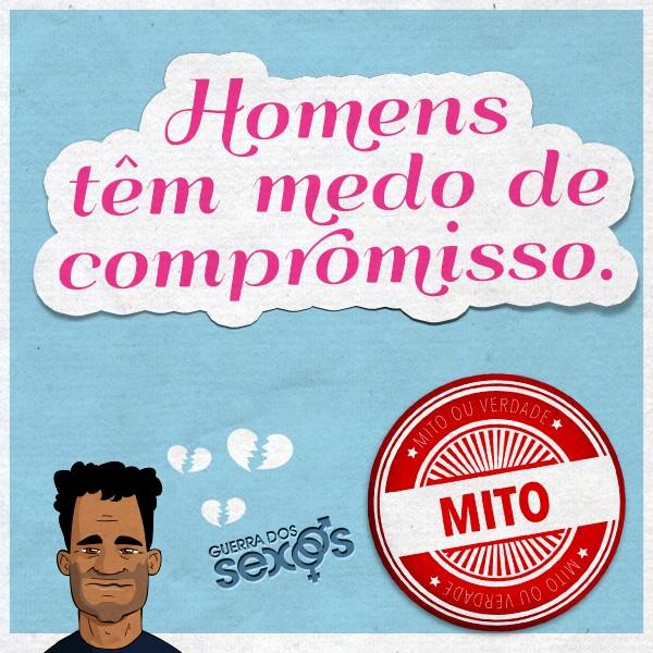 Homens tëm medo de compromisso - Mito