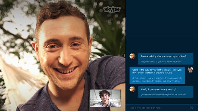 Tradução em tempo real do Skype foi liberada para todos os usuários (Foto: Divulgação/Skype)