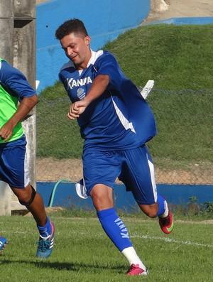 CSA intensifica treinamentos para a estreia na Copa do Nordeste (Foto: Caio Lorena / Globoesporte.com)