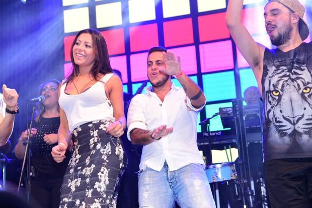 Thammy Miranda e Andressa Ferreira (Foto: Leo Franco / AgNews)