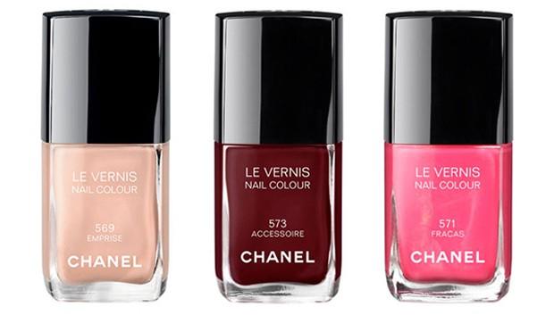 A nova coleção de esmaltes da Chanel (Foto: Reprodução)