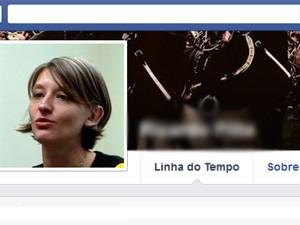Camila Jourdan é mestre em Filosofia e professora (Foto: Reprodução/Facebook)