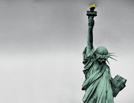 Estátua da Liberdade (Foto: Ilustração Alexandre Lucas)