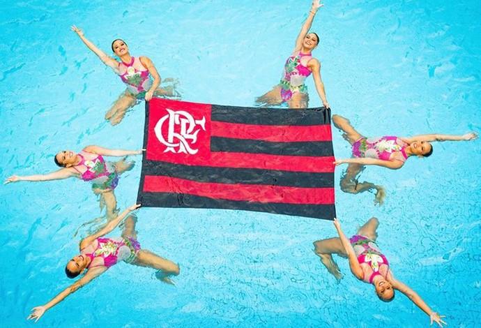 flamengo nado sincronizado sirenas (Foto: Cherry Rocha e Ju Martins)