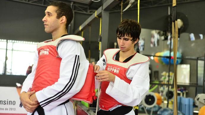 Guilherme Félix Guilherme Dias Taekwondo (Foto: Dojan Nippon/Divulgação)