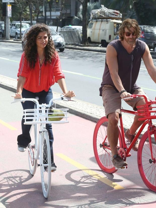 Gianecchini e Camila Alves (Foto: Gabriel Reis / Ag. News)