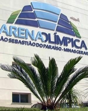 Arena Olímpica, São Sebastião do Paraíso (Foto: EPTV)