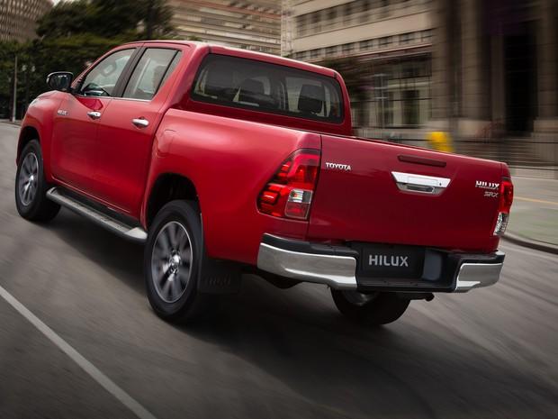 Nova Toyota Hilux 2016 (Foto: Divulgação)