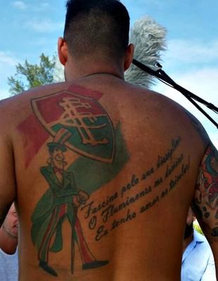 EuAtleta - programa tattoo e Bruno Menezes (Foto: Renata Domingues)