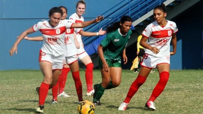 Princesa do Solimões e Iranduba - Campeonato Amazonense Feminino (Foto: Divulgação/Faf)