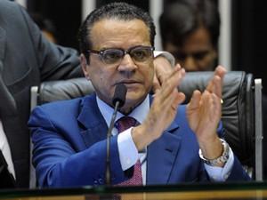 O presidente da Câmara, Henrique Eduardo Alves, em sessão nesta terça (12) (Foto: JBatista/Ag.Câmara)