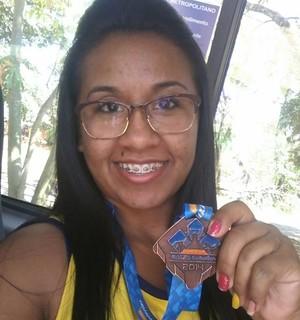 Paratleta do AP fica com o bronze no Circuito Caixa, em SP, e busca a Bolsa Atleta (Foto: Marlon Gomes/Arquivo Pessoal)