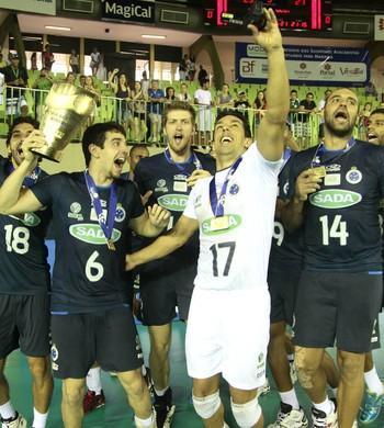 Volei - Copa Brasil de Voleibol - Sesi x Cruzeiro - Cruzeiro Campeão (Foto: Ivan Amorin)