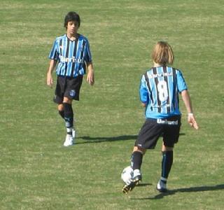 Beto da Silva categorias de base Grêmio (Foto: Arquivo Pessoal)