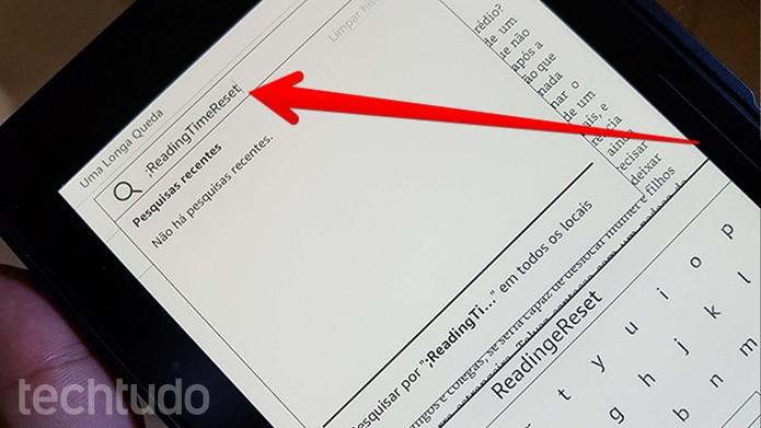 Insira o comando na busca, como mostra a imagem (Foto: Filipe Garrett/TechTudo)