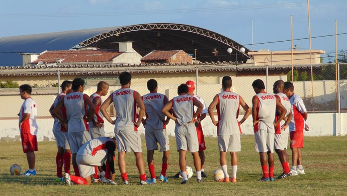 Potiguar de Mossoró - coletivo - jogadores (Foto: Marcelo Diaz/Divulgação)