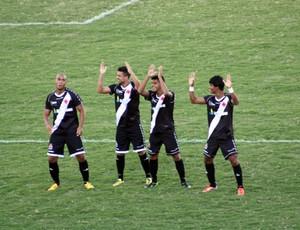 Vasco x Comercial - Copa São Paulo (Foto: Cleber Akamine / globoesporte.com)