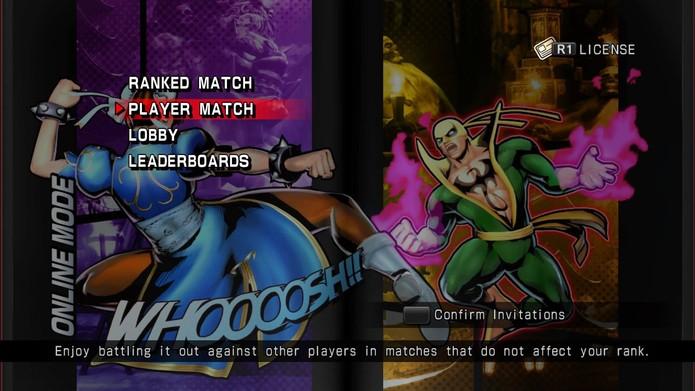 Como jogar os modos de luta em Ultimate Marvel vs. Capcom 3 no PS4 (Foto: Reprodução/Felipe Vinha) (Foto: Como jogar os modos de luta em Ultimate Marvel vs. Capcom 3 no PS4 (Foto: Reprodução/Felipe Vinha))