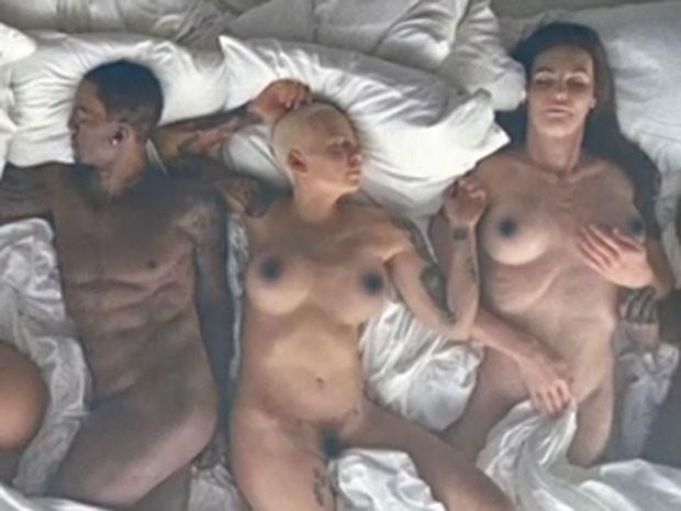 Ray J, Amber Rose e Caitlyn Jenner são retratados em clipe (Foto: Reprodução)