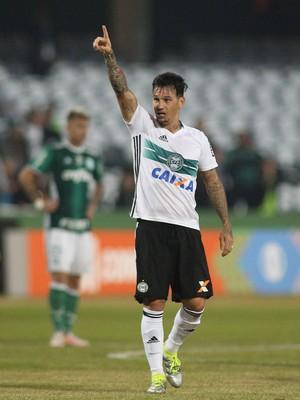 Coritiba Palmeiras Couto Pereira (Foto: Giuliano Gomes/PR PRESS)