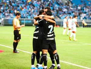 Grêmio vence o Passo Fundo por 3 a 1 (Foto: Lucas Uebel/Grêmio, DVG)