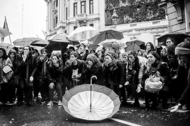 Movimento 8M, quarta-feira, 08/03/2017 (Foto: Divulgação)