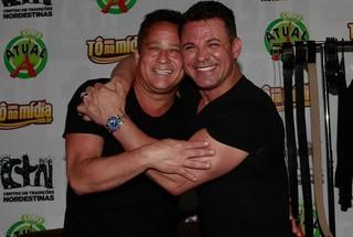 Leonardo e Eduardo Costa (Foto: Claudio Augusto/Photorionews)