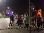 Suspeita de bomba interdita área ao lado Boulevard Olímpico