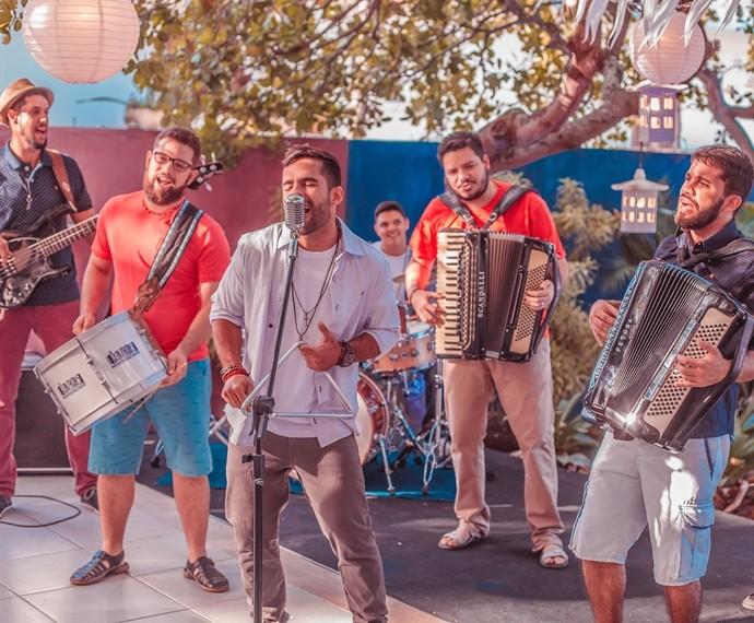 Banda paraibana chegou à semifinal do programa SuperStar (Foto: Max Brito/TV Cabo Branco)