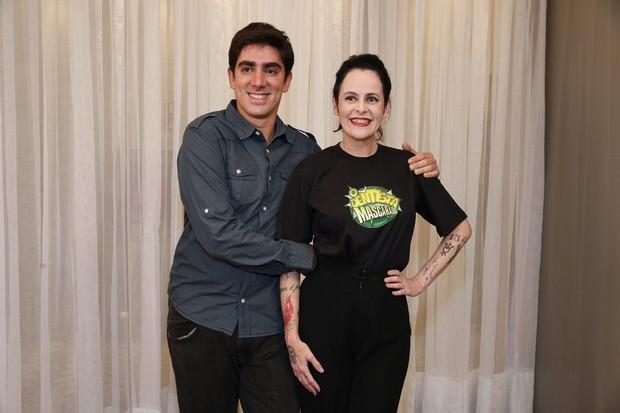 Marcelo Adnet e Fernanda Young (Foto: Felipe Panfili/ Ag.News)