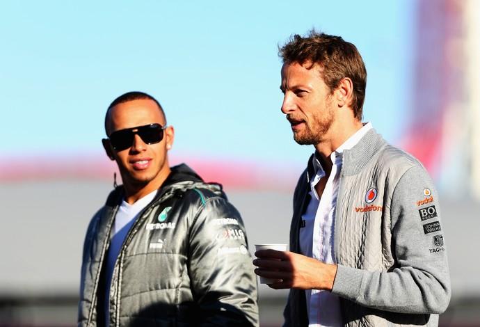 Lewis Hamilton Jenson Button Fórmula 1 2013 (Foto: Getty Images)