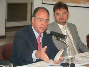 Ministro Fernando Bezerra anuncia ações para Região da Grande Teresina (Foto: Gil Oliveira/ G1)