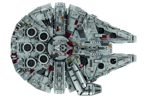 A nova Millennium Falcon da Lego (Foto: reprodução )