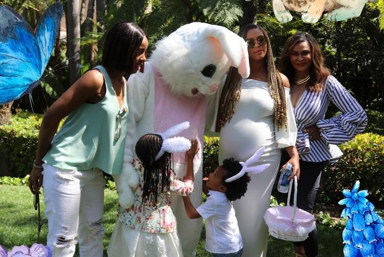 Beyoncé e família (Foto: Divulgação)