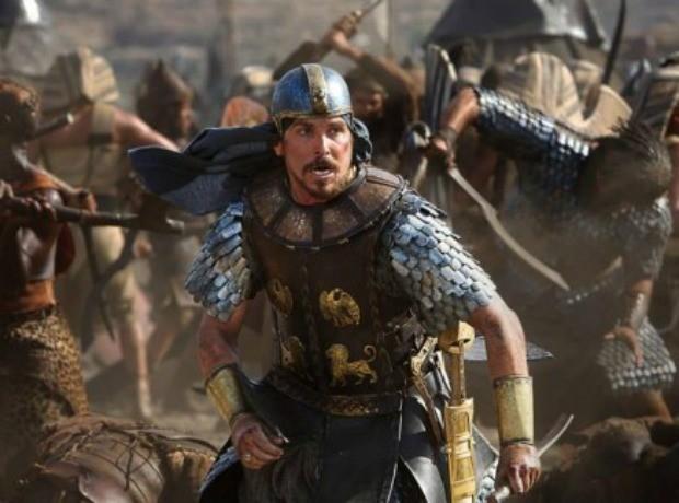 O ator Christian Bale faz o papel principal no filme Êxodo, Deuses e Reis (Foto: Divulgação)