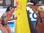 Ágatha/Duda e Larissa/Talita vão à semi e garantem medalha ao Brasil