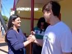 Em Campo Grande, Rose diz que vai investir nos pequenos empresários