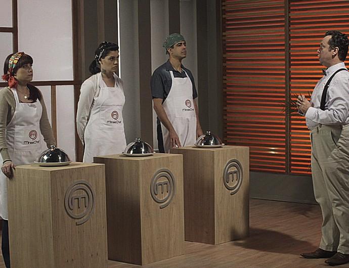 Tá no Ar faz paródia com reality de culinária (Foto: TV Globo)