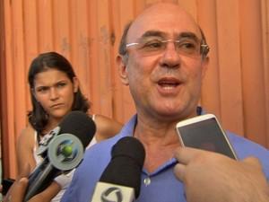 Ex-deputado José Riva deixou prisão nesta sexta-feira, dia de seu aniversário. (Foto: Reprodução / TVCA)
