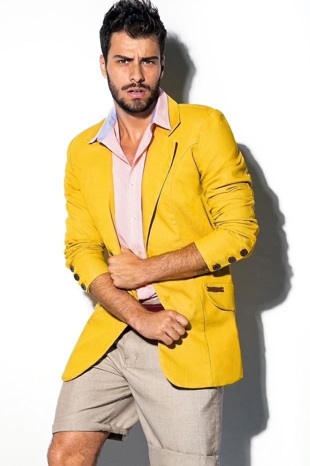 Lucas Malvacini (Foto: Fernando Louza/Revista Status)