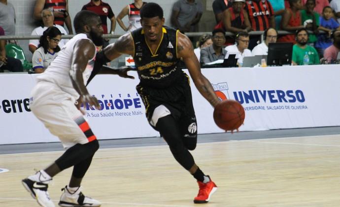 Vitória x Mogi das Cruzes NBB basquete (Foto: Divulgação/Vitória)