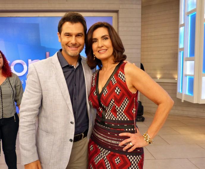 Doutor Fernando e Fátima (Foto: Carolina Berger/Gshow)