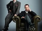 Cumberbatch e Martin Freeman adotam estilo vitoriano em 'Sherlock'