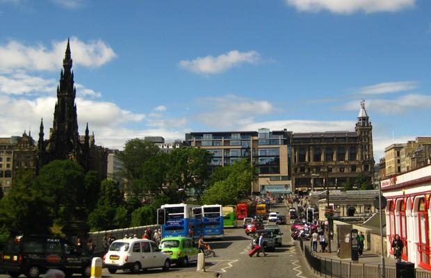 Resultado de imagem para imagens da capital da escócia