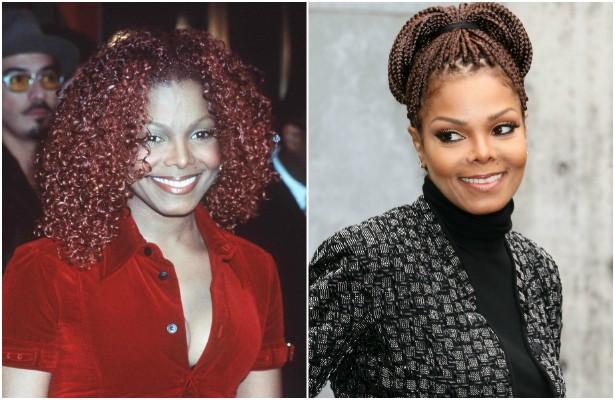 Janet Jackson era um nome fortíssimo na cena pop da década de 90. Você acha que a aparência dela mudou muito de outubro de 1997, quando tinha 31 anos, para os dias de hoje, em que está com 48? (Foto: Getty Images)