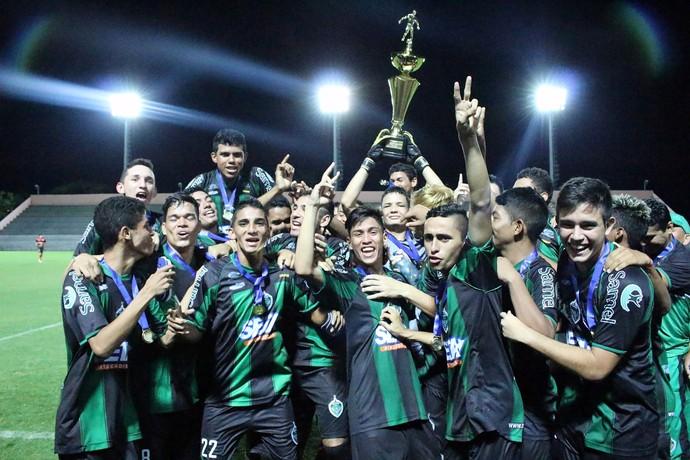 Manaus FC campeão amazonense juvenil 2016 (Foto: Emanuel Mendes Siqueira)