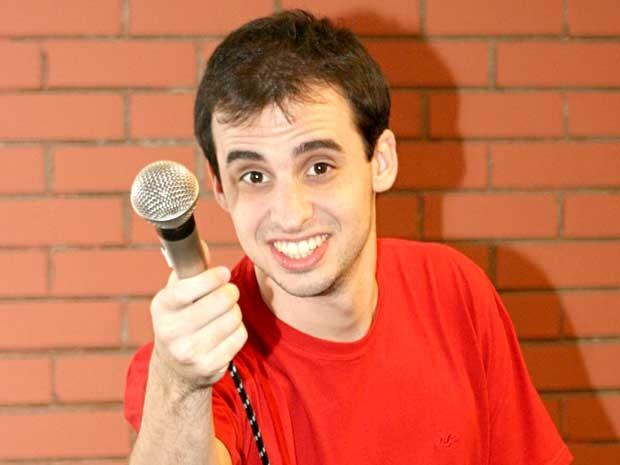 """O comediante Marcos Castro, que apresenta o espetáculo """"Meu número"""", neste fim de semana em Brasília (Foto: Casa de Artistas/Divulgação)"""