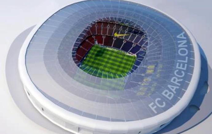 Novo Camp Nou Barcelona (Foto: EFE)