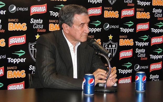 Carlos Alberto Parreira, Atlético-MG (Foto: Leonardo Simonini / Globoesporte.com)