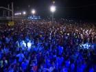 Festa de Réveillon reúne multidão em Aracaju